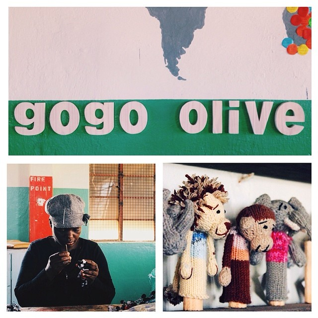 Gogo Olive Knitting Workshop *Photography by Felicity Davies